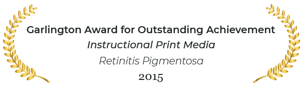 Garlington award for outstanding achievement in instructional print media